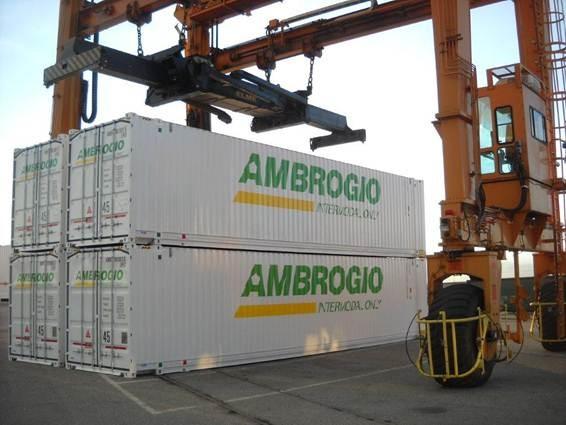 container frigo