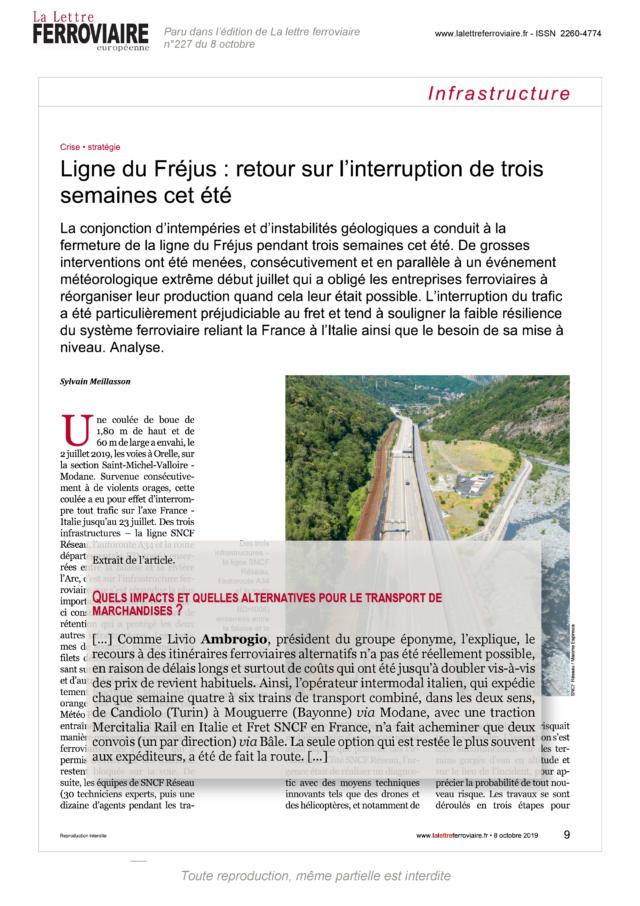 Revue de presse LLF - AmbrogioLLF227 - 08-10-2019