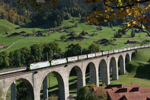 Treno Ambrogio - Frutigen Svizzera
