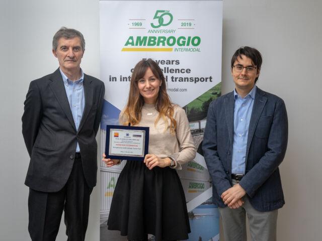 Ambrogio Intermodal - Premio Il Logistico dell'Anno 2020